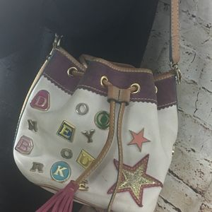 Dooney & Bourke Bucket Charm Bag-MADE IN ITALY-GUC